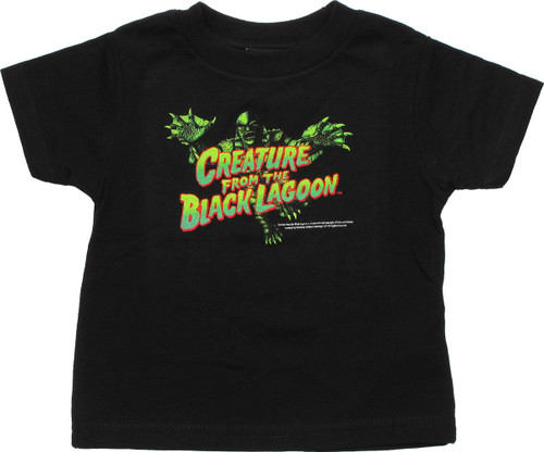 Creature from the Black Lagoon Lunge Toddler T Shirt