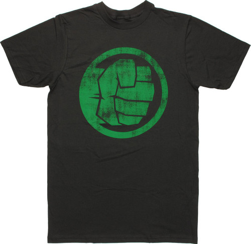 Incredible Hulk Fist Icon T Shirt Sheer