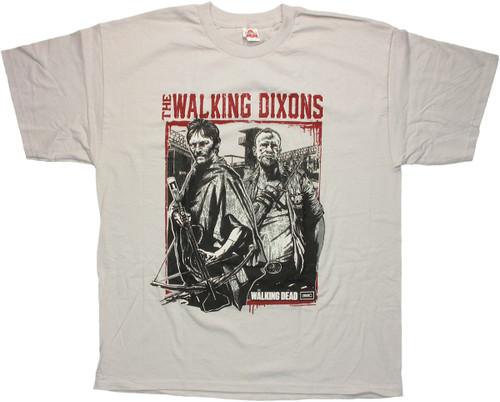 Walking Dead Walking Dixons T Shirt