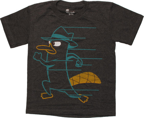 Phineas and Ferb Perry Run Juvenile T Shirt