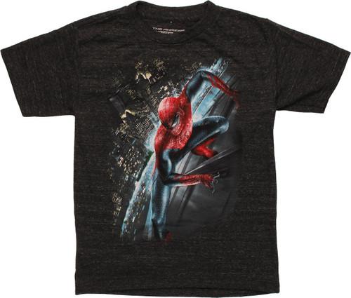 Spiderman Stick Side Juvenile T Shirt