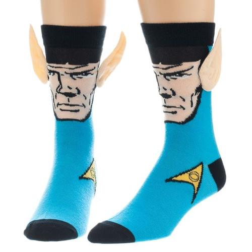 Star Trek Spock Ears Crew Socks
