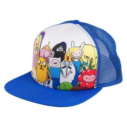 Adventure Time Group Trucker Hat