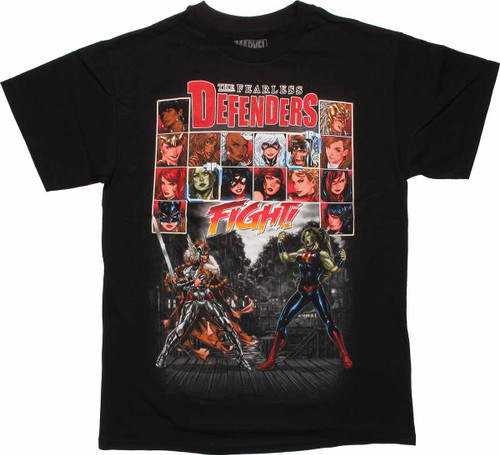 Marvel Fearless Defenders #5 T Shirt