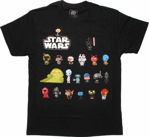 Star Wars Tiny Death Star Galactic Bitizens T Shirt Sheer