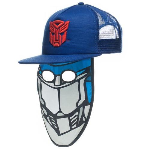 Transformers Autobot Optimus Mask Trucker Hat