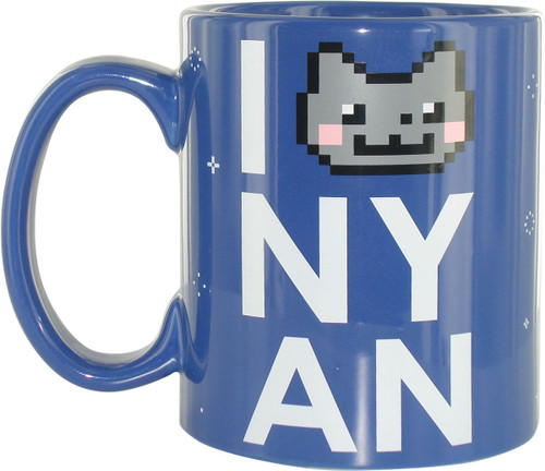 Nyan Cat Love Jumbo Mug