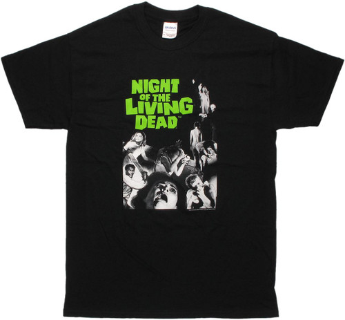 Night of the Living Dead Simple Poster T Shirt