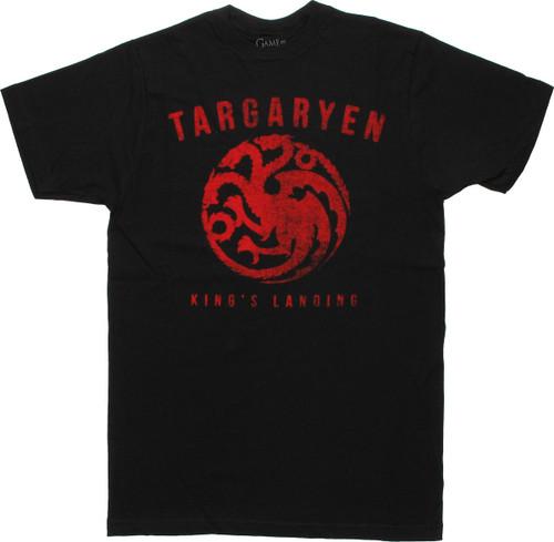 Game of Thrones Targaryen Kings Landing T Shirt Sheer