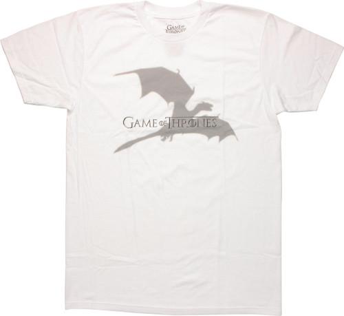 Game of Thrones Dragon Shadow T Shirt Sheer