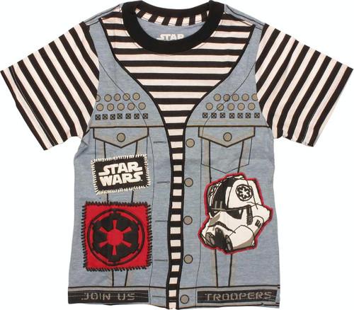 Star Wars Punk Vader Suit Juvenile T Shirt