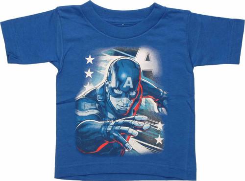 Captain America Reach Toddler T Shirt