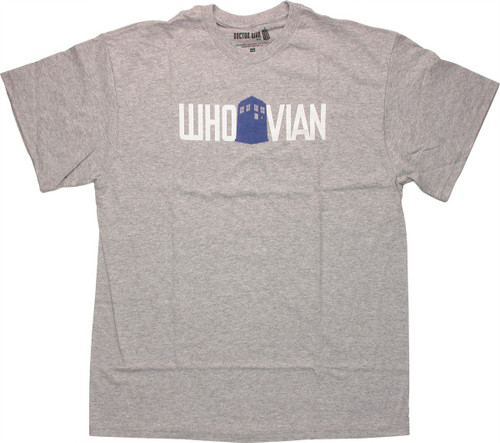 Doctor Who TARDIS Whovian T Shirt