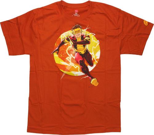 Flash Kid Flash Run T Shirt