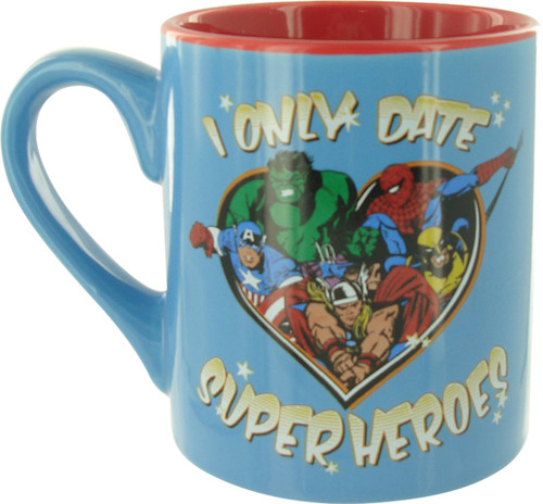 Avengers Date Superheroes Mug
