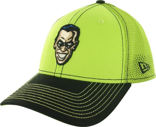 Batman Riddler 2 Tone Mesh Back 39THIRTY Hat