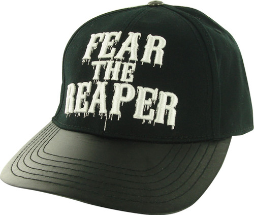 Sons of Anarchy Fear Reaper Faux Leather Visor Hat