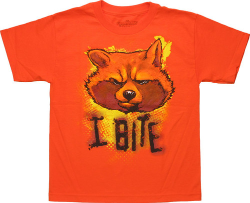 Guardians of the Galaxy I Bite Youth T Shirt