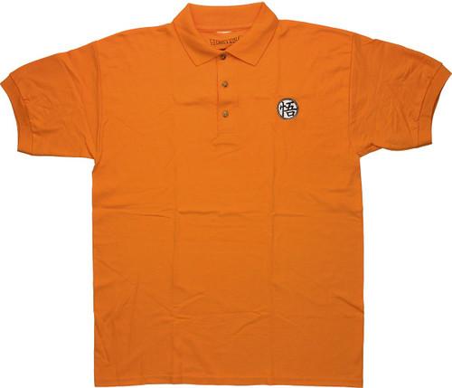 Dragon Ball Z Goku Kanji Polo Shirt