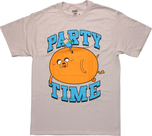 Adventure Time Party Time T Shirt