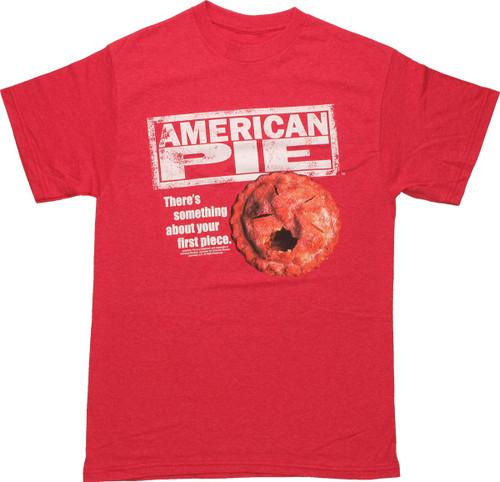 American Pie Logo Pie Red T Shirt