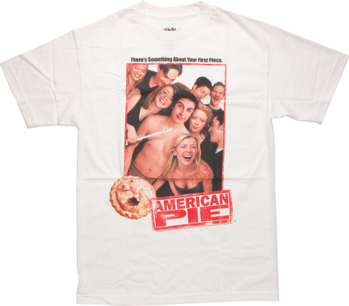 American Pie Group Photo White T Shirt