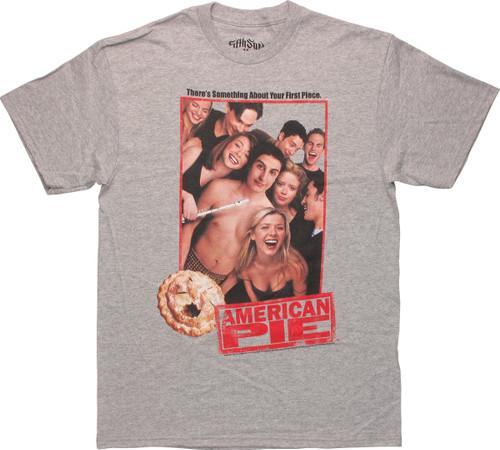 American Pie Group Photo Gray T Shirt