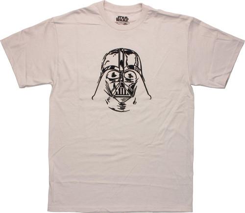 Star Wars Velour Vader Helmet T Shirt
