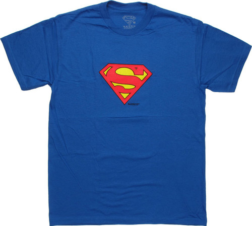 Superman Small Logo T Shirt