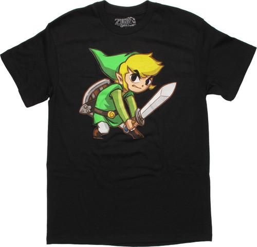 Zelda Toon Link T Shirt