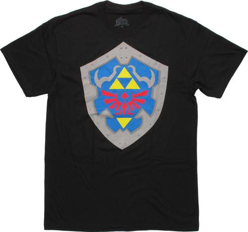 Zelda Hylian Shield T Shirt