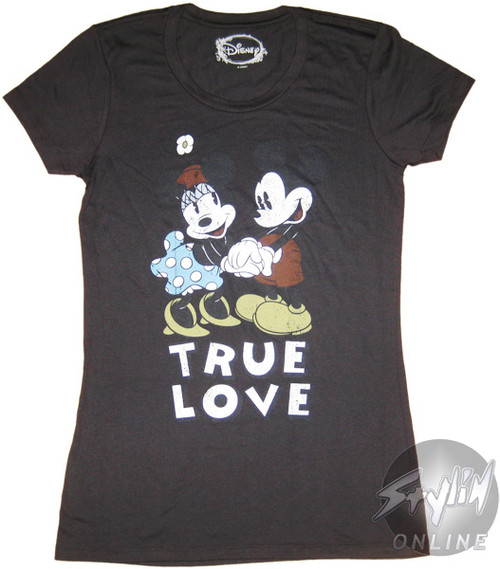 Mickey Mouse True Love Baby Tee