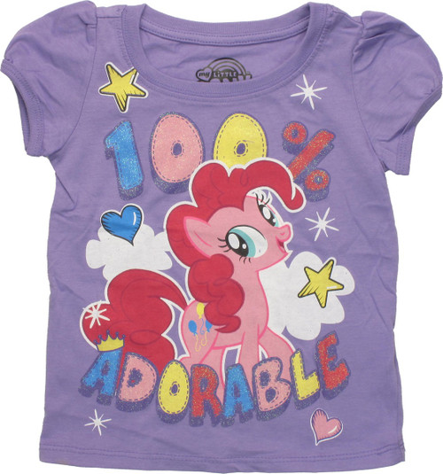 My Little Pony 100% Adorable Puff Sleeve Toddler T Shirt
