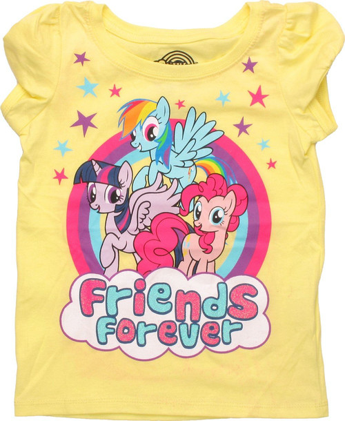 My Little Pony Friends Forever Puff Sleeve Toddler T Shirt