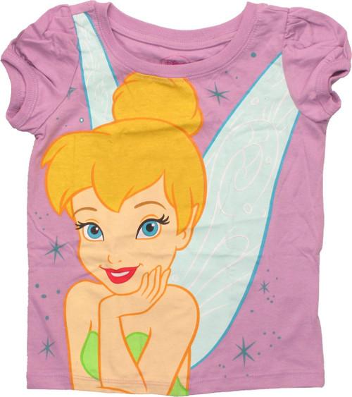 Tinker Bell Close Up Puff Sleeve Toddler T Shirt
