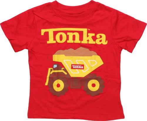 Tonka Dump Truck Toddler T Shirt
