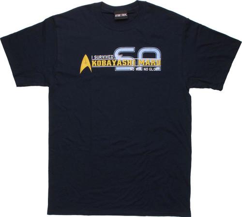 Star Trek Survived Kobayashi Maru T Shirt