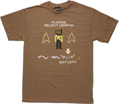 Star Trek Next Generation Select Weapon T Shirt