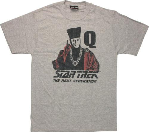 Star Trek TNG Q Point T Shirt