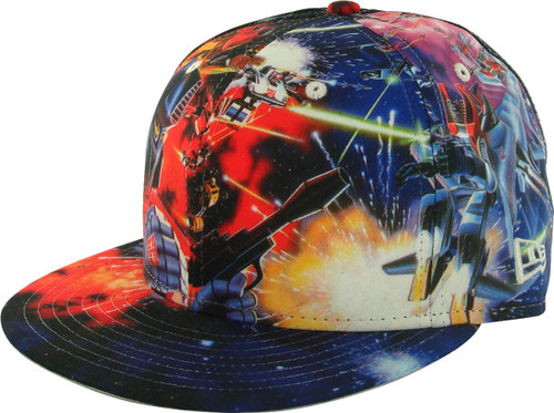 Transformers All Over Battle 59FIFTY Hat