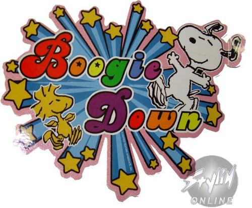 bb8423c28 Peanuts Snoopy Boogie Sticker stpeanutsboogie