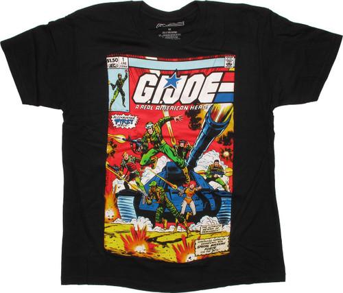 GI Joe First Issue Cover T Shirt Sheer