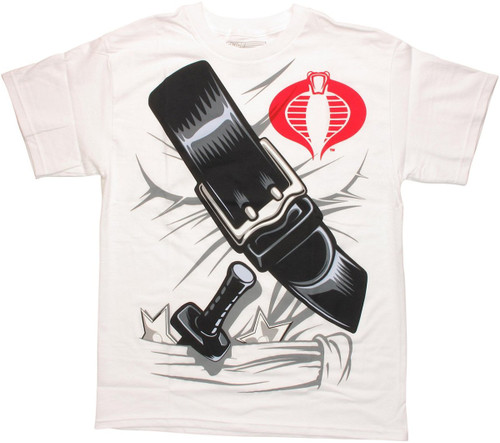 GI Joe Storm Shadow Suit T Shirt