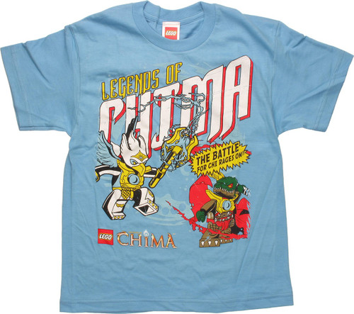 Lego Chima Legends Battle Youth T Shirt