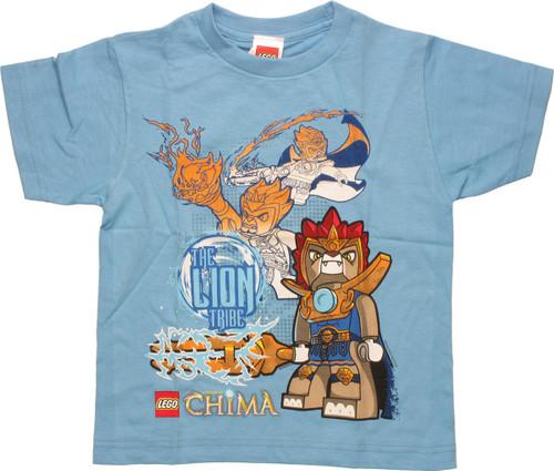 Lego Chima Lion Tribe Juvenile T Shirt