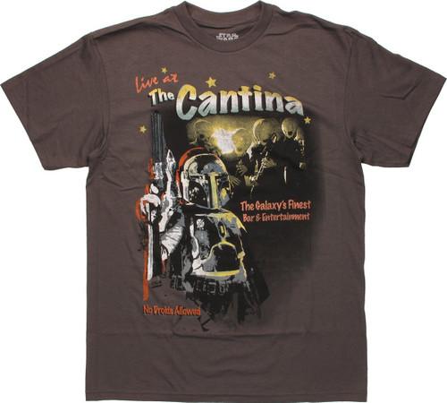 Star Wars Cantina Fett T Shirt