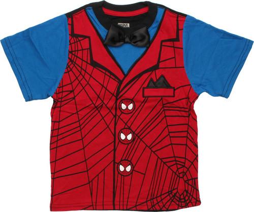 Spiderman Formal Juvenile T Shirt