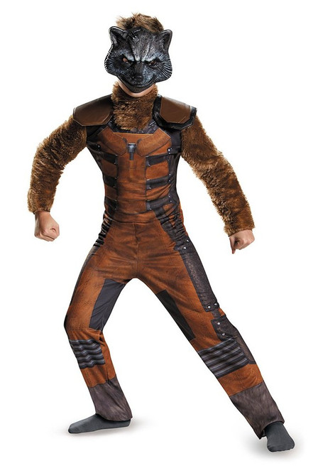 Guardians of the Galaxy Rocket Raccoon Deluxe Child Costume