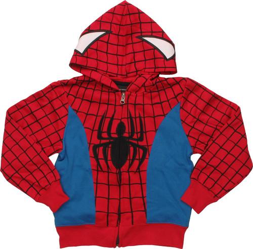 Spiderman Suit Juvenile Hoodie