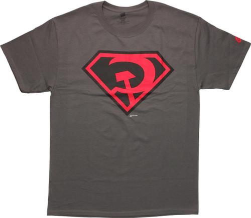Superman Red Son Logo T Shirt